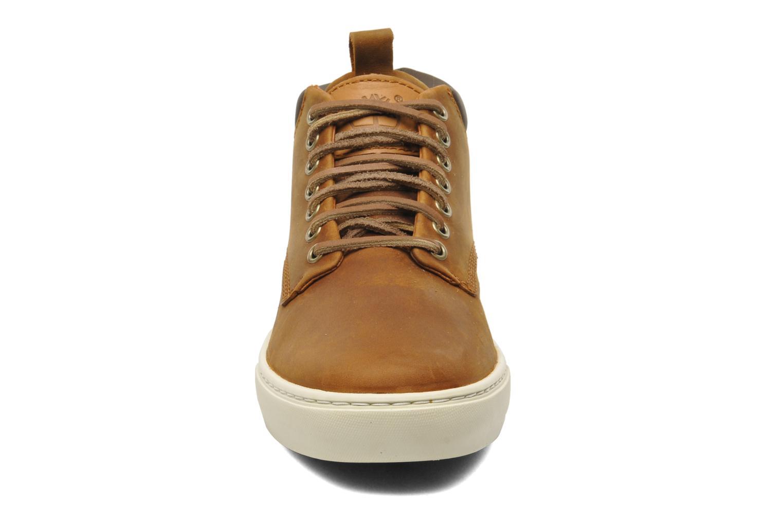 Sneaker Timberland Earthkeepers 2.0 Cupsole Chukka braun schuhe getragen