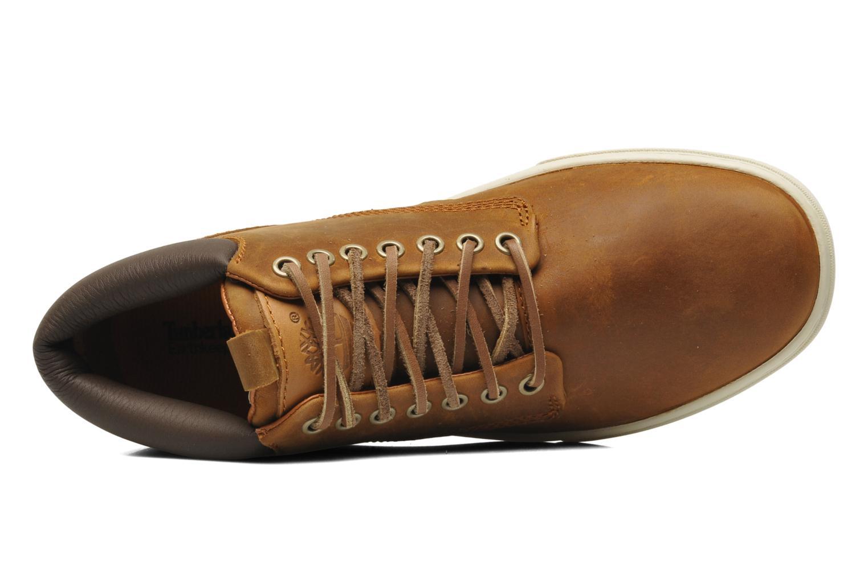 Sneaker Timberland Earthkeepers 2.0 Cupsole Chukka braun ansicht von links