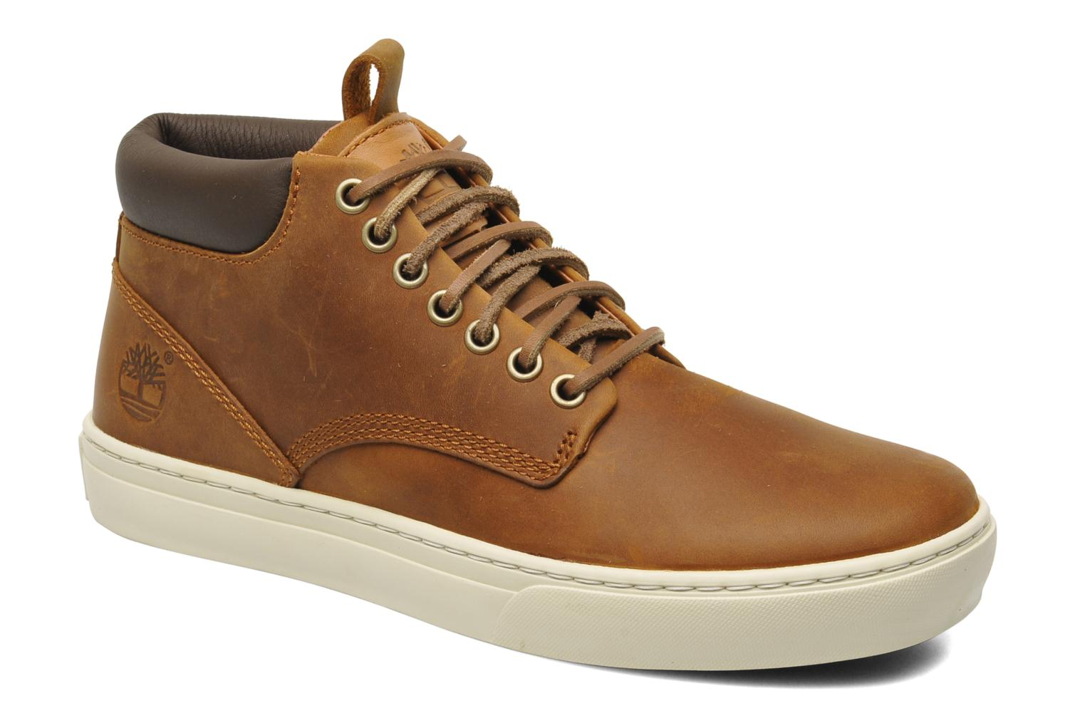 Earthkeepers 2.0 Cupsole Chukka Red Brown Oiled