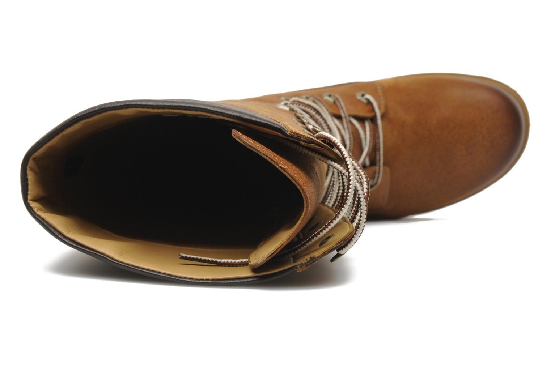 Bottes Timberland Women's Premium 14 inch Marron vue gauche