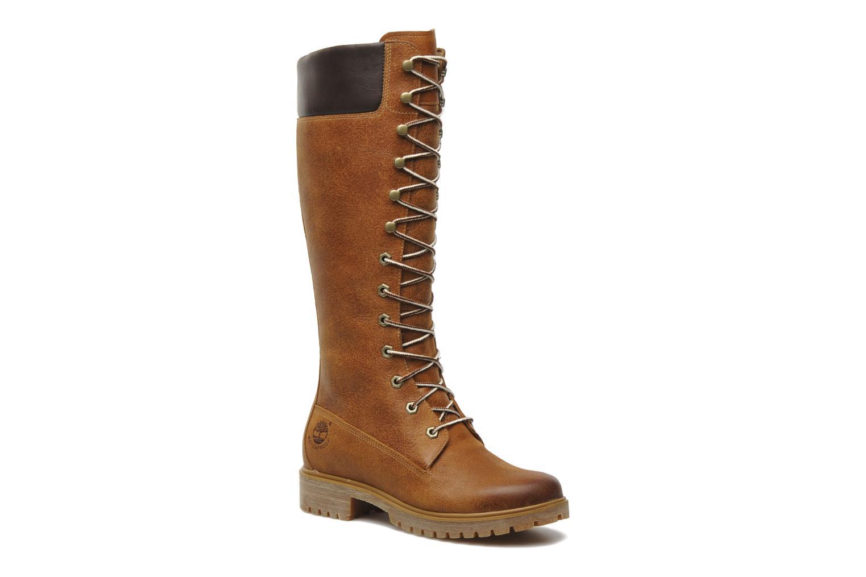 Bottes Timberland Women's Premium 14 inch Marron vue détail/paire