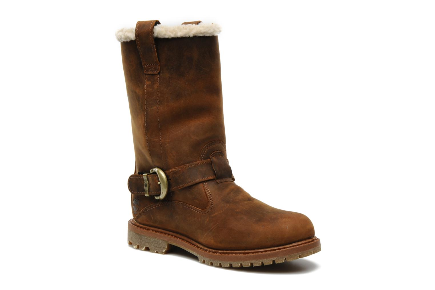 Nellie Pull On WP Boot Medium Brown