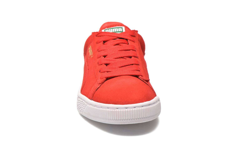 Sneaker Puma Suede classic eco W rot schuhe getragen