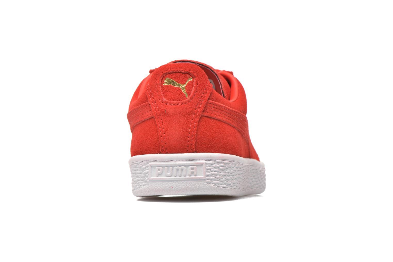 Sneaker Puma Suede classic eco W rot ansicht von rechts