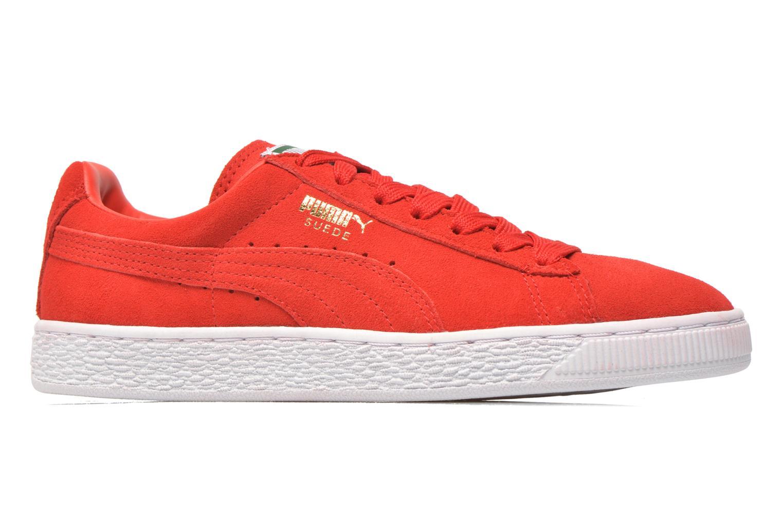 Sneaker Puma Suede classic eco W rot ansicht von hinten