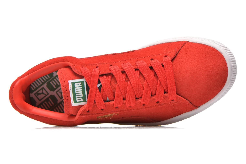 Sneaker Puma Suede classic eco W rot ansicht von links