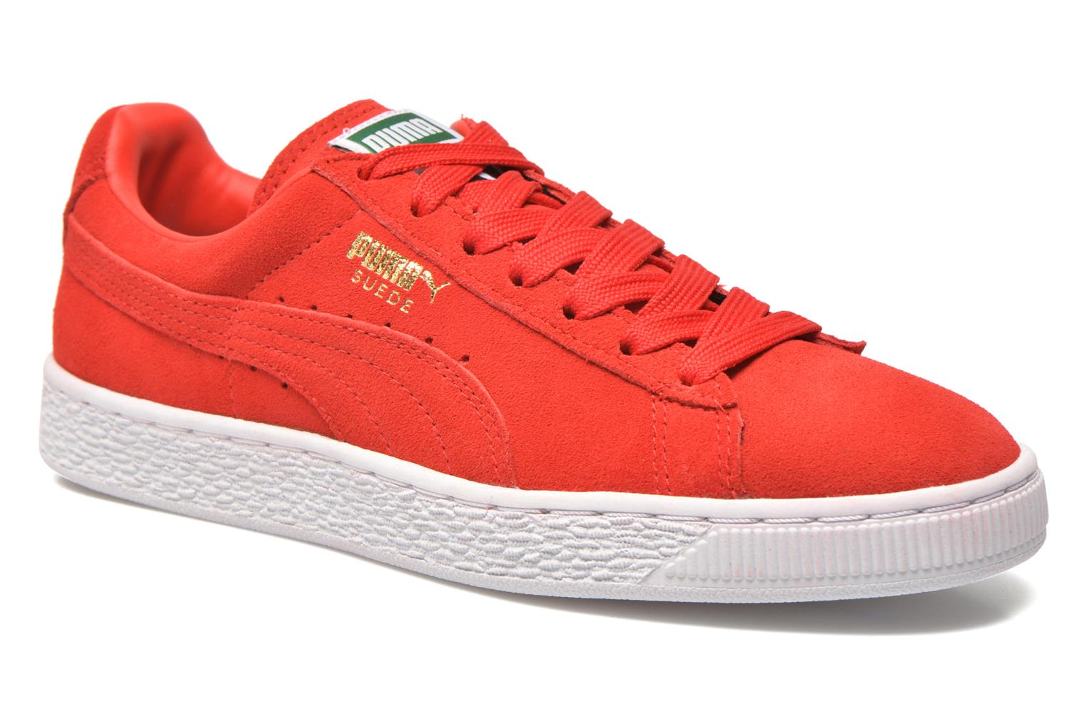 Sneaker Puma Suede classic eco W rot detaillierte ansicht/modell