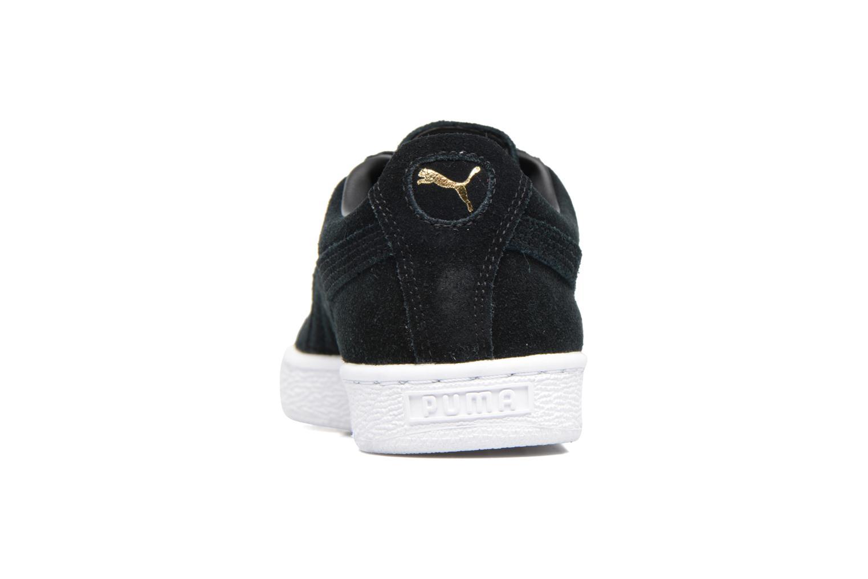 Sneaker Puma Suede classic eco W schwarz ansicht von rechts