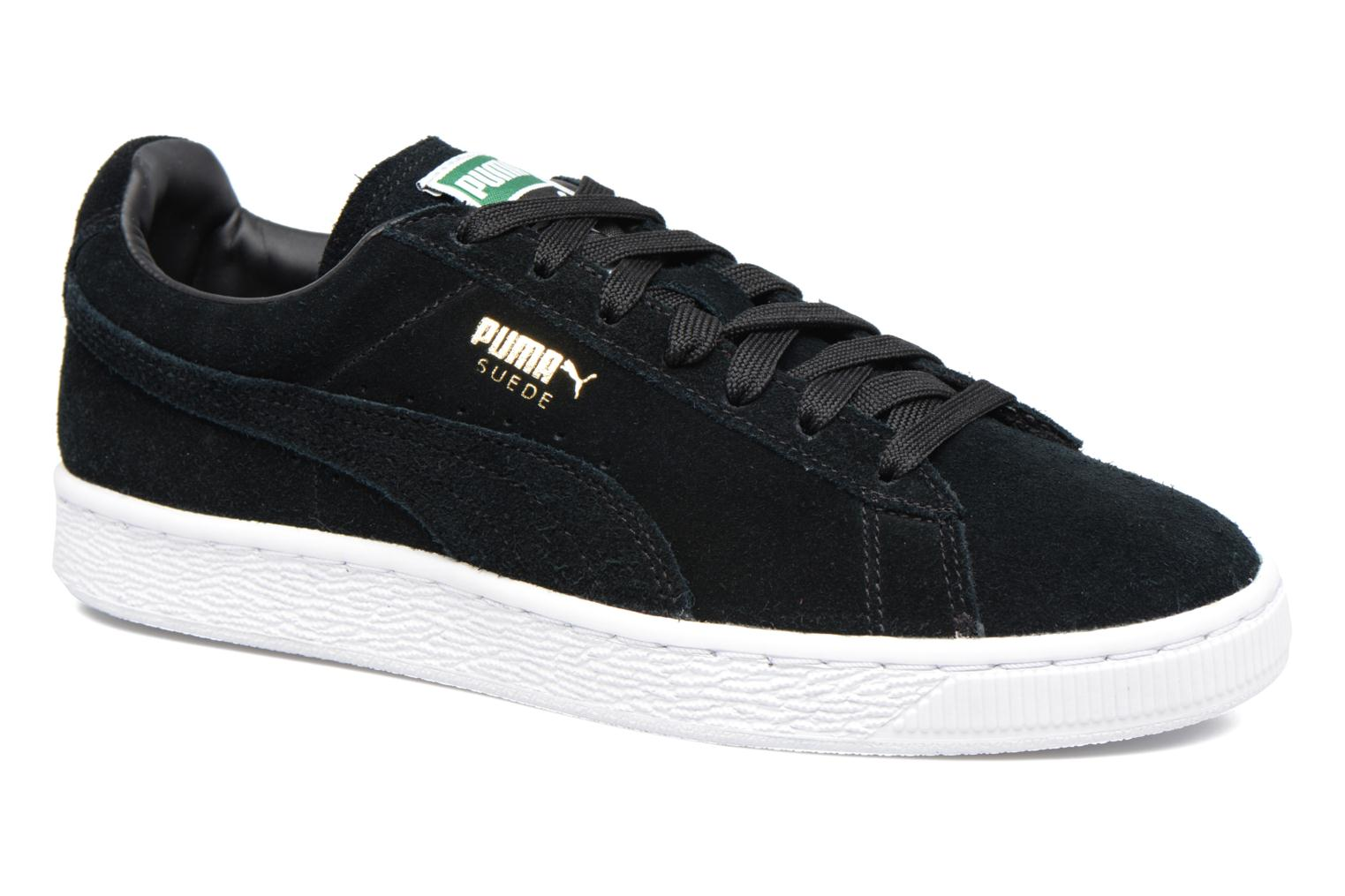 Trainers Puma Suede classic eco W Black detailed view/ Pair view