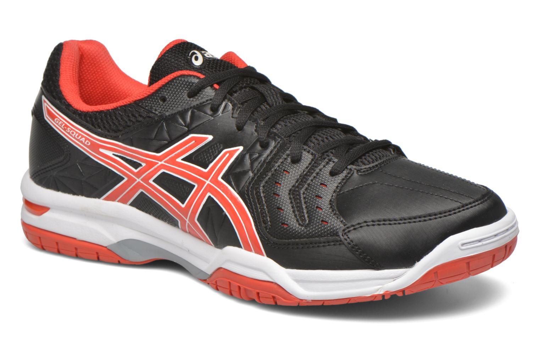 Sport shoes Asics Gel-Squad Black detailed view/ Pair view