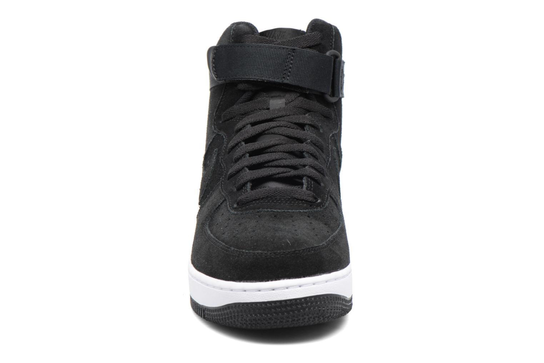 Baskets Nike Air Force 1 High'07 Noir vue portées chaussures