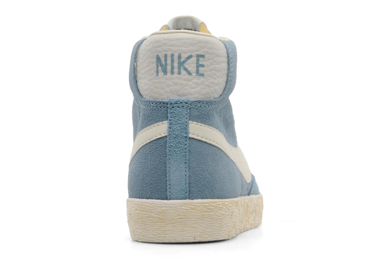 Sneakers Nike Wmns Blazer Mid Suede Vintage Blauw rechts