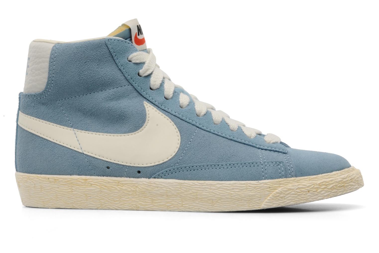 Sneakers Nike Wmns Blazer Mid Suede Vintage Blauw achterkant