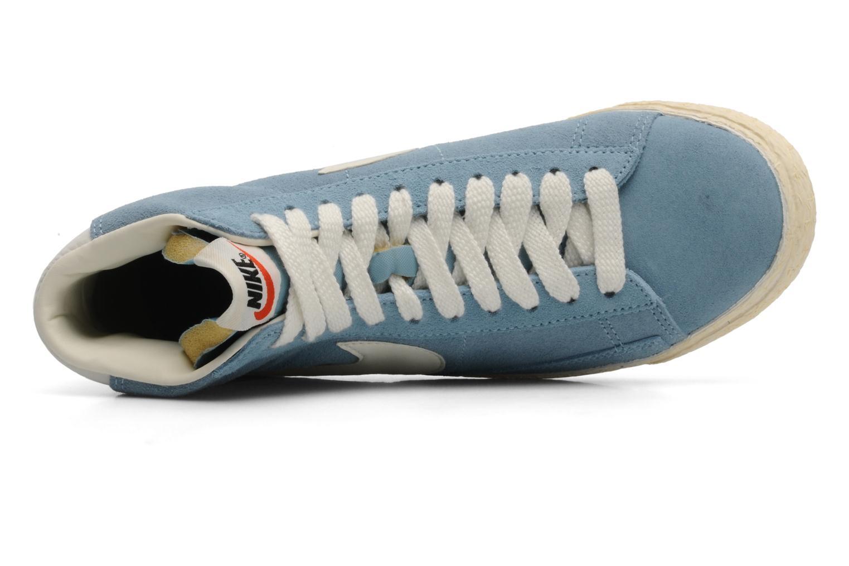 Wmns Blazer Mid Suede Vintage Worn Blue/Sail-Gum Med Brown