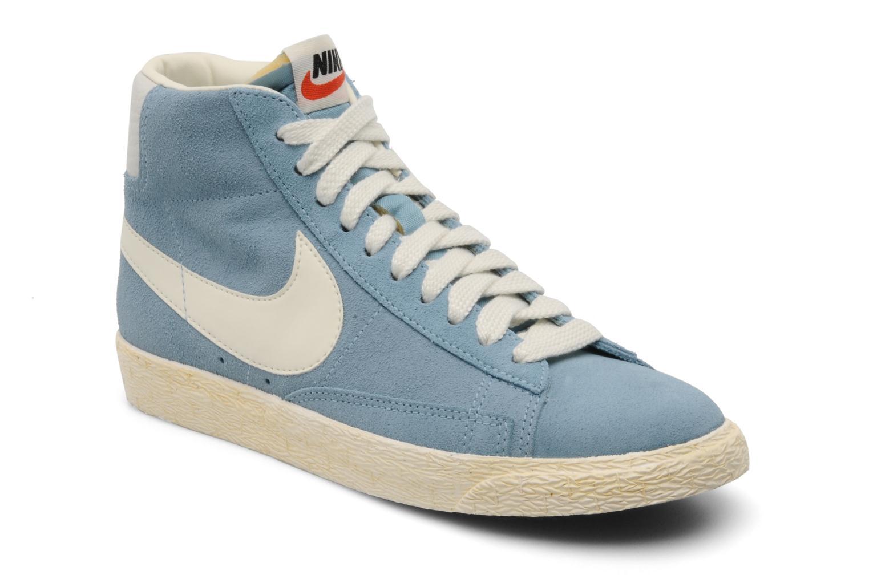 Sneakers Nike Wmns Blazer Mid Suede Vintage Blauw detail