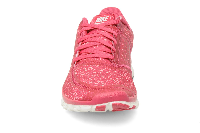 Sportschuhe Nike Wmns Nike Free 5.0 V4 rosa schuhe getragen