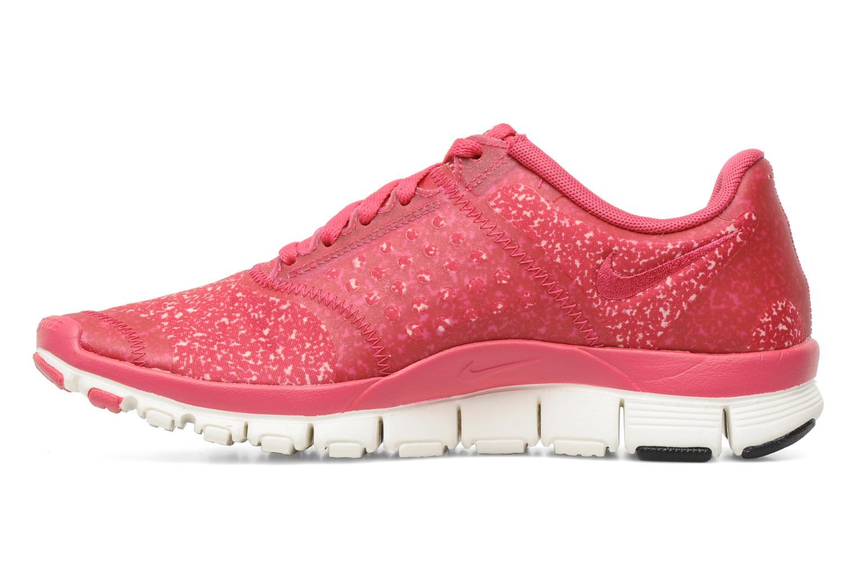 Sportschuhe Nike Wmns Nike Free 5.0 V4 rosa ansicht von vorne