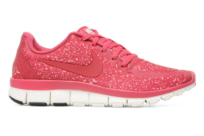 Sportschuhe Nike Wmns Nike Free 5.0 V4 rosa ansicht von hinten