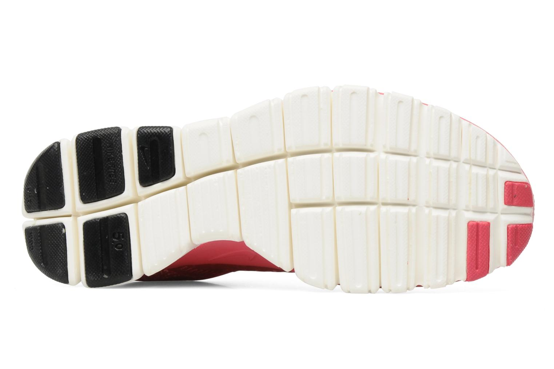 Sportschuhe Nike Wmns Nike Free 5.0 V4 rosa ansicht von oben