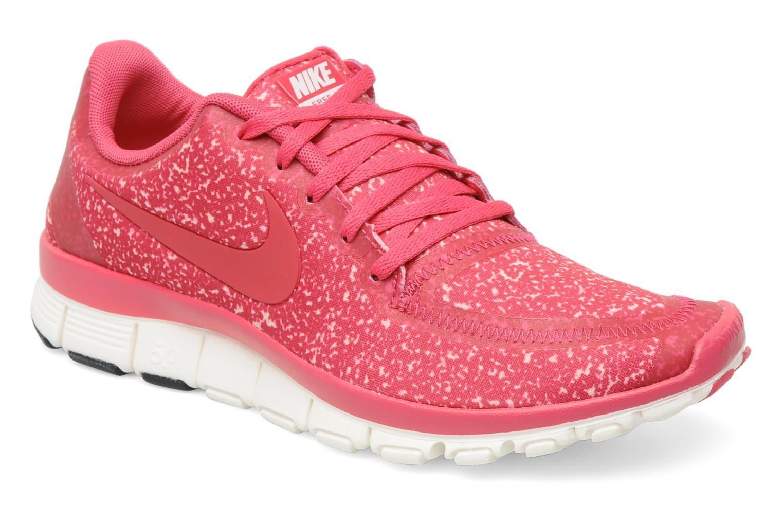 Sportschuhe Nike Wmns Nike Free 5.0 V4 rosa detaillierte ansicht/modell