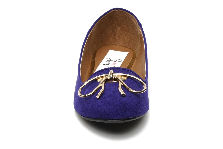 Mocassins I Love Shoes Nail Violet vue portées chaussures