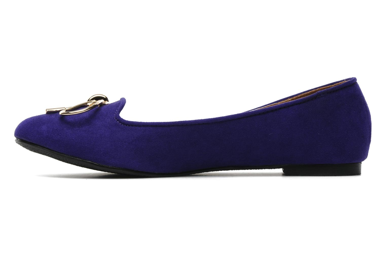 Mocassins I Love Shoes Nail Violet vue face