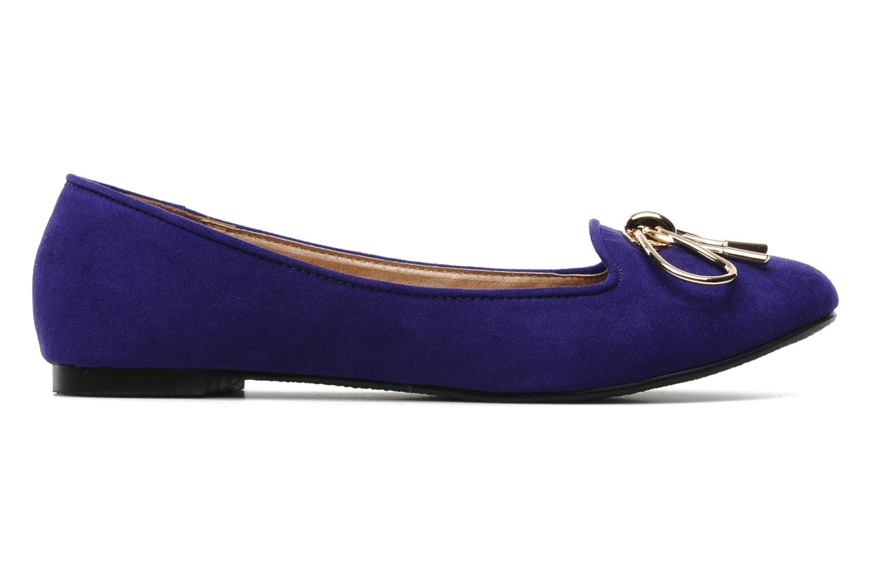 Mocassins I Love Shoes Nail Violet vue derrière