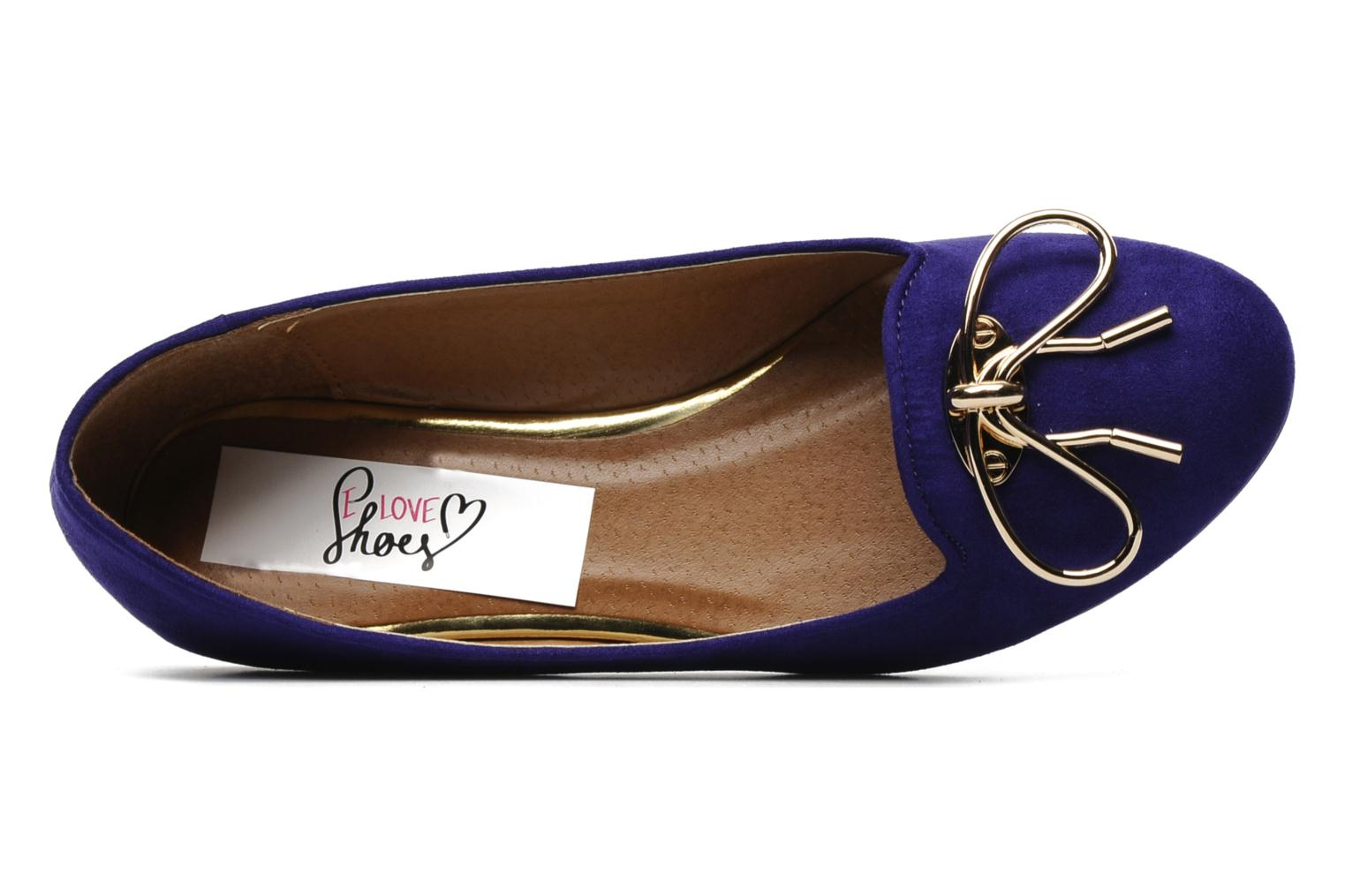 Mocassins I Love Shoes Nail Violet vue gauche