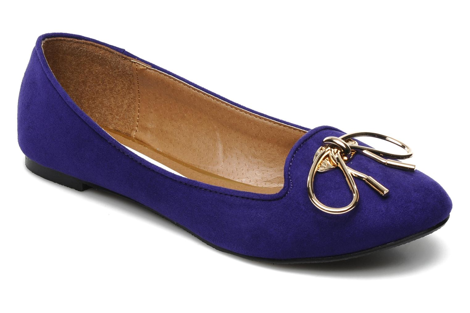 Mocassins I Love Shoes Nail Violet vue détail/paire