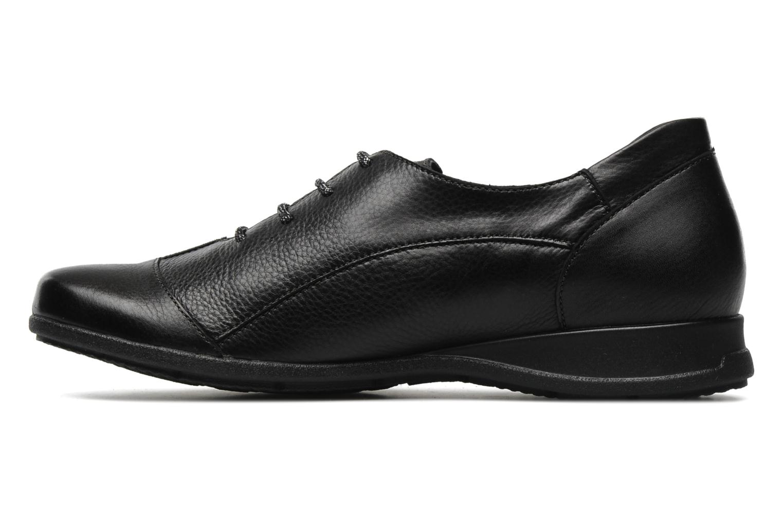 Lace-up shoes Mephisto Gazina Black front view