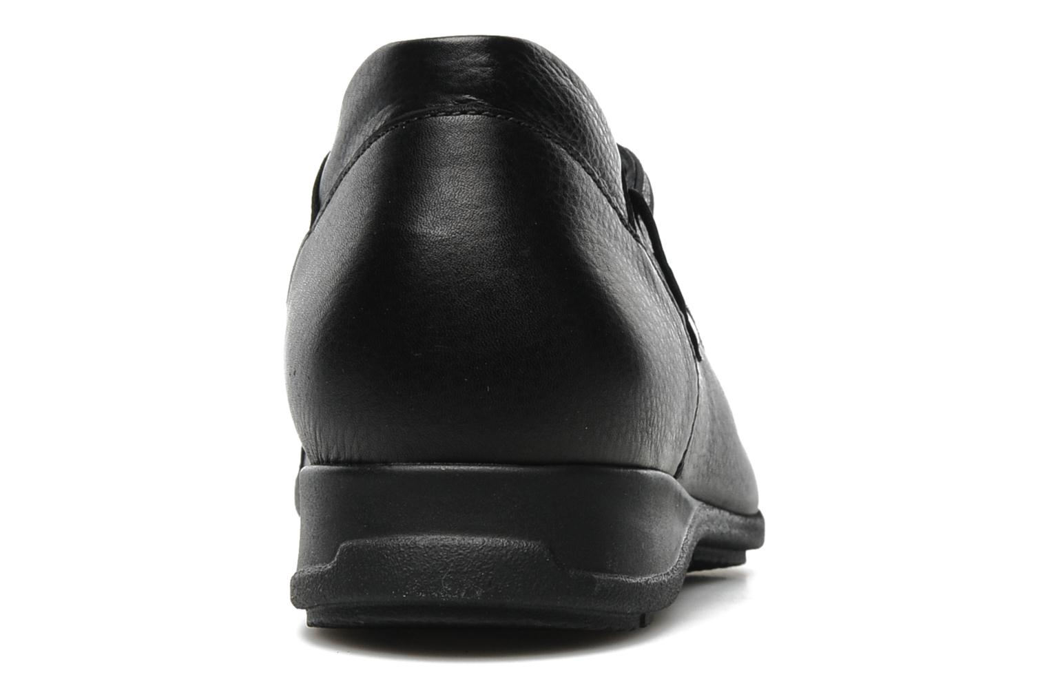 Lace-up shoes Mephisto Gazina Black view from the right