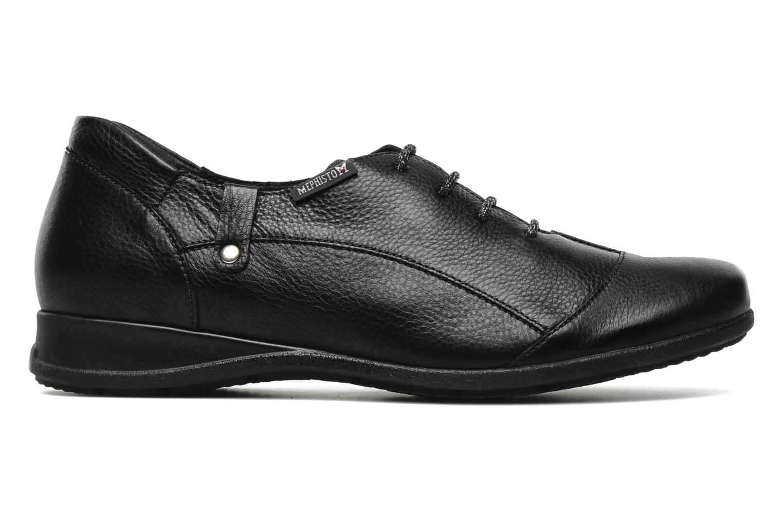 Lace-up shoes Mephisto Gazina Black back view