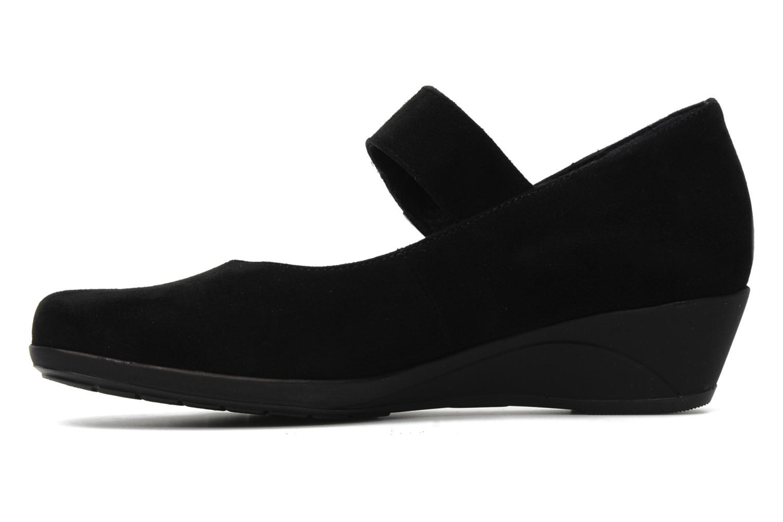High heels Mephisto Kimona Black front view