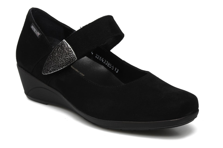 High heels Mephisto Kimona Black detailed view/ Pair view