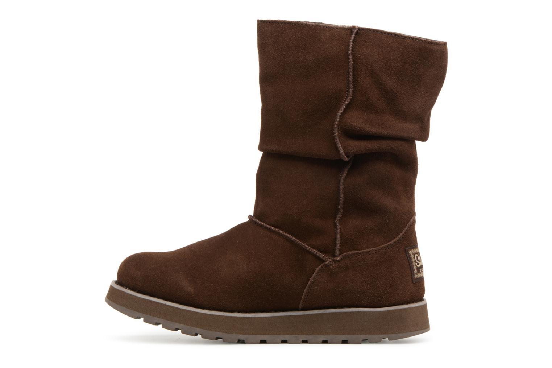 Bottines et boots Skechers Keepsakes Freezing Temps 47221 Marron vue face