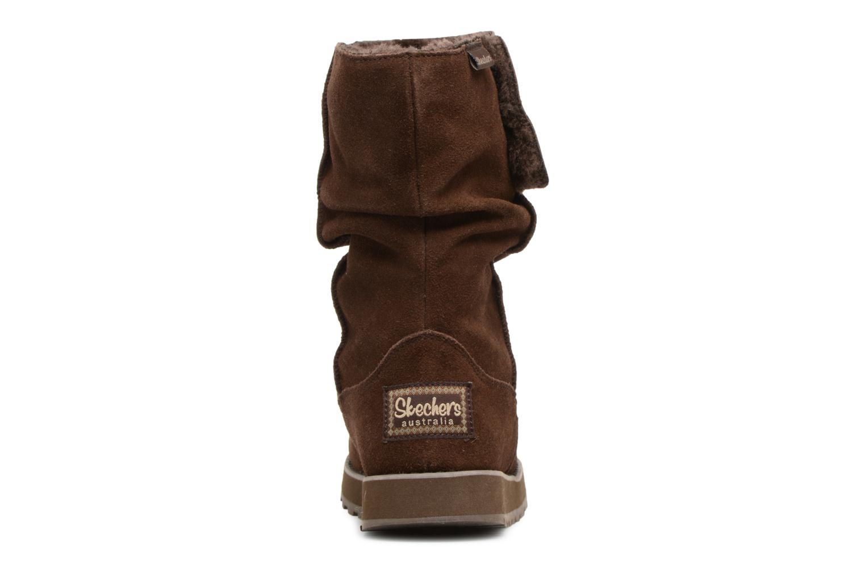 Bottines et boots Skechers Keepsakes Freezing Temps 47221 Marron vue droite