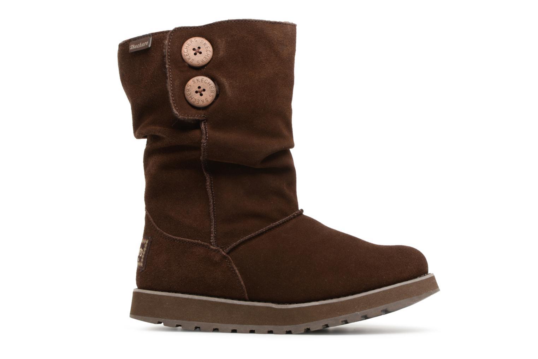 Bottines et boots Skechers Keepsakes Freezing Temps 47221 Marron vue derrière
