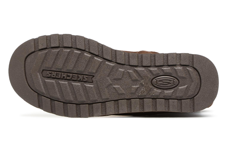Bottines et boots Skechers Keepsakes Freezing Temps 47221 Marron vue haut