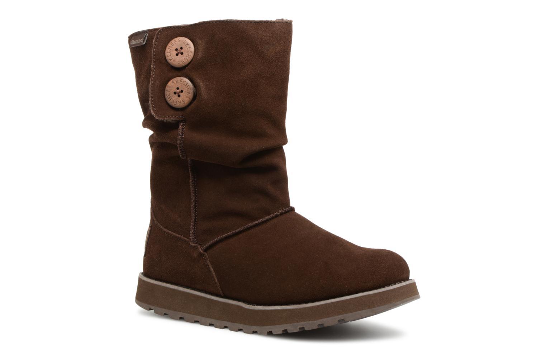 Bottines et boots Skechers Keepsakes Freezing Temps 47221 Marron vue détail/paire
