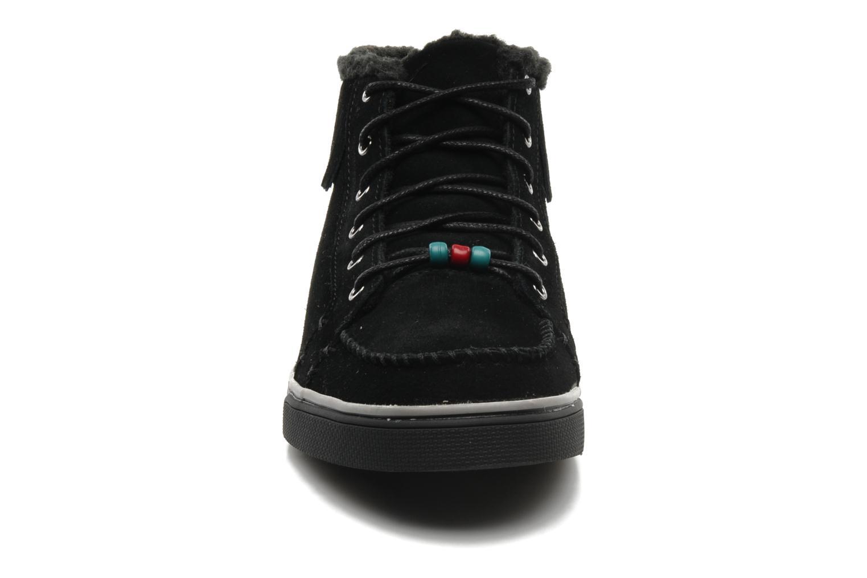 Baskets Skechers Mohican 47682 Noir vue portées chaussures