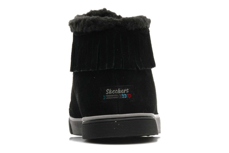 Baskets Skechers Mohican 47682 Noir vue droite