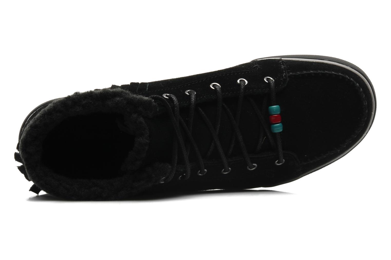 Baskets Skechers Mohican 47682 Noir vue gauche