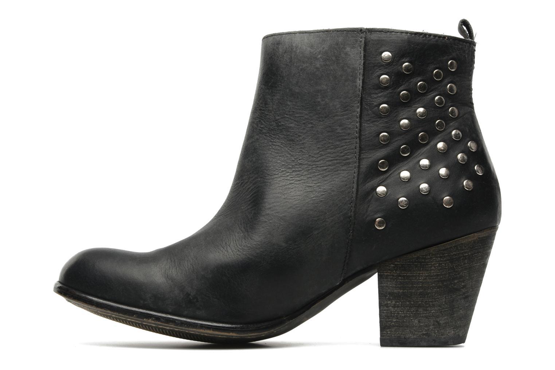 Bottines et boots Valensi Bulldog Noir vue face