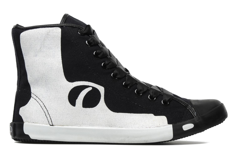 Sneakers Be&D Pistol Svart bild från baksidan
