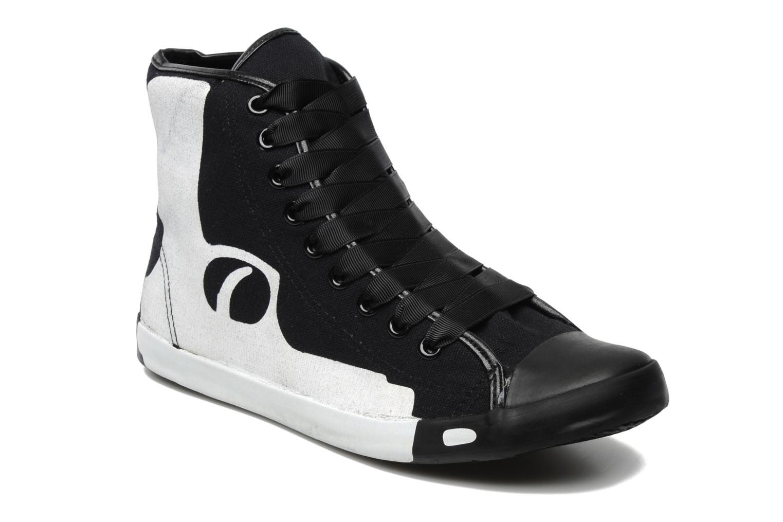 Sneakers Be&D Pistol Svart detaljerad bild på paret