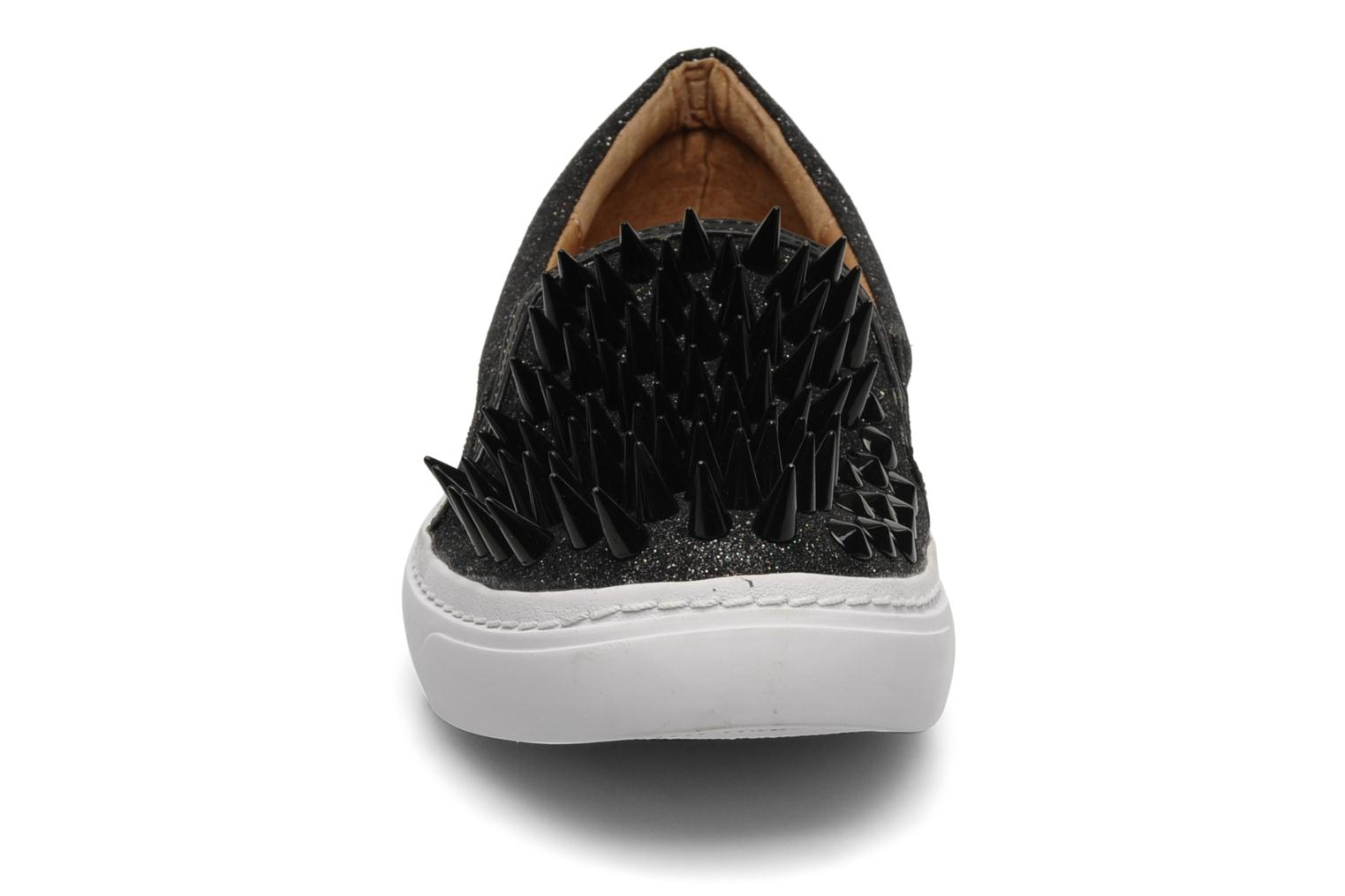 Trainers Jeffrey Campbell Hawk ZN Black model view