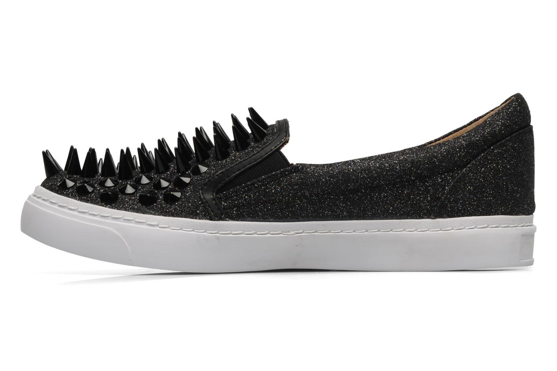 Sneakers Jeffrey Campbell Hawk ZN Sort se forfra