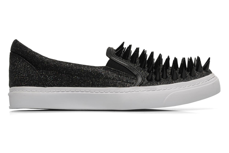 Sneaker Jeffrey Campbell Hawk ZN schwarz ansicht von hinten