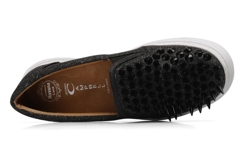 Sneakers Jeffrey Campbell Hawk ZN Nero immagine sinistra