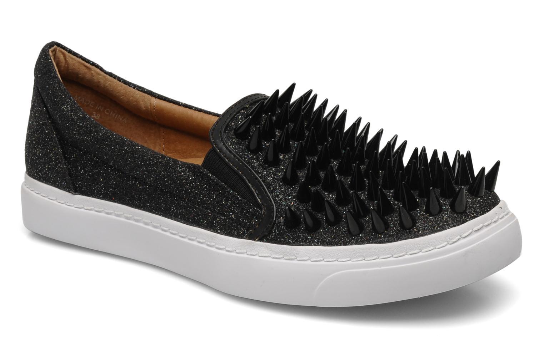 Sneakers Jeffrey Campbell Hawk ZN Sort detaljeret billede af skoene